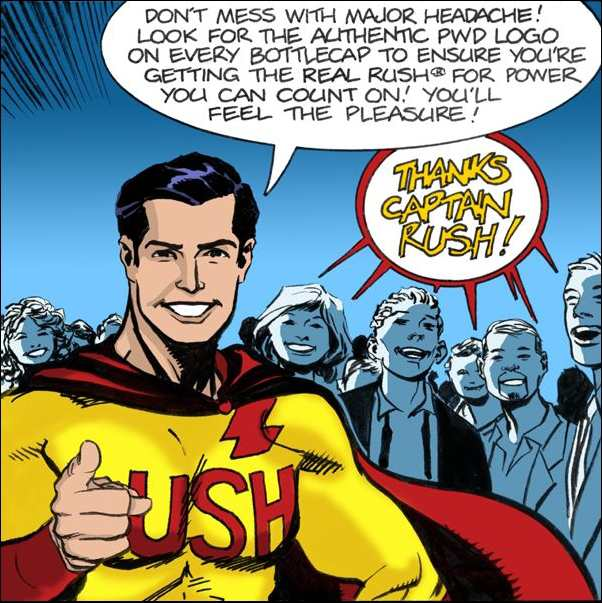 Thanks, Captain RUSH!